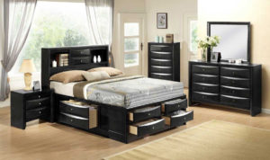 Bedroom Set, Bed with Storage